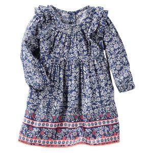 Baby Girl 2-Piece Floral Dress | OshKosh.com