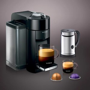 Piano Black Bundle | Evoluo Machine | Nespresso USA