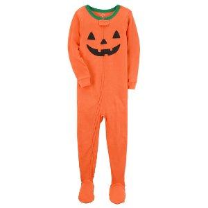 1-Piece Snug Fit Cotton Halloween PJs