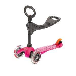 Warehouse Deals Micro Mini 3in1 Pink