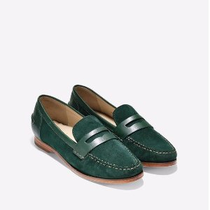 Pinch Grand Penny Loafers in Scarab Suede | Cole Haan