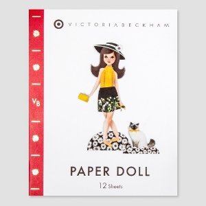Paper Doll Book - Victoria Beckham for Target : Target