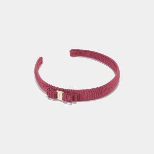 Salvatore Ferragamo Vara Bow Headband Accessories | ELEVTD Free Shipping & Returns