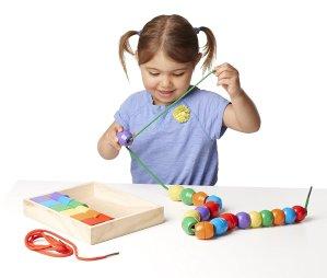 低至$6.49精选Melissa & Doug 儿童益智玩具促销