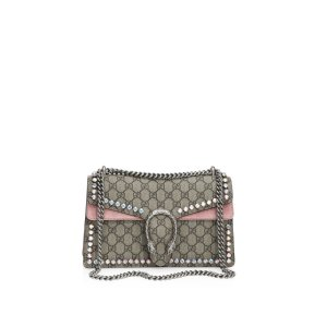 Small Dionysus Crystal-Embellished Chain Shoulder Bag by Gucci