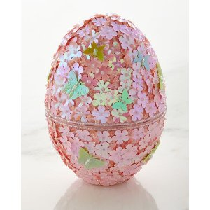 Godiva Chocolatier Beaded Easter Egg with Chocolates