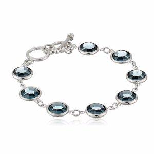 白菜价 $11.39 (原价$25)1928 Jewelry Toggle Strand 女士施华洛世奇元素水晶手链