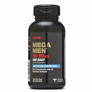 GNC Mega 男款50岁以上综合维生素 One Daily