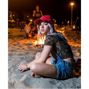 Superdry Shirred Bardot Top - Women's Tops