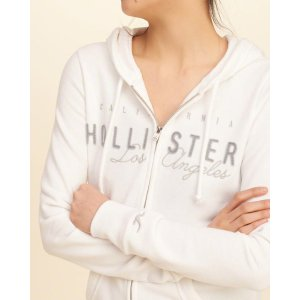 Girls Logo Graphic Hoodie | Girls Clearance | HollisterCo.com