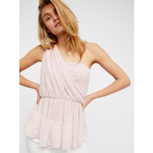 Ballet Bella One Shoulder Top at Free People Clothing Boutique