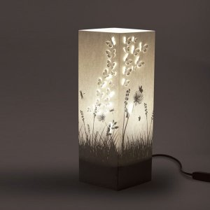 $27.99 + Free ShippingW-Lamp Paper Art Table Lamps @The Apollo Box