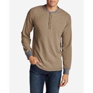 Men's Wapato Long-Sleeve Henley Shirt