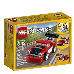 $3.99LEGO Creator Red Racer 31055 Building Kit