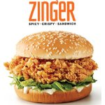 Zinger Spicy Chicken Sandwich @  KFC