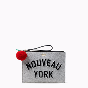 nouveau york medium bella pouch