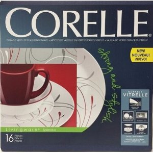 Corelle Lw 16pc Set Splendor Coupe - Walmart.com