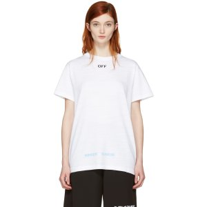 Off-White: Black Care 'Off' T-Shirt