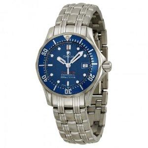 Omega Seamaster James Bond Ladies Watch 2224.80 - Seamaster - Omega - Watches - Jomashop