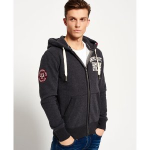 Superdry Core Applique Zip Hoodie - Men's Hoodies