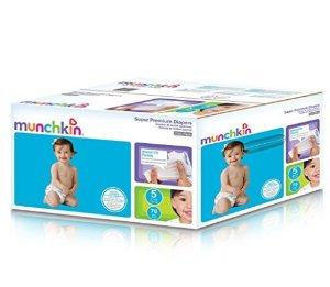 $11.56Munchkin Super Premium 婴儿纸尿裤 5段 78片