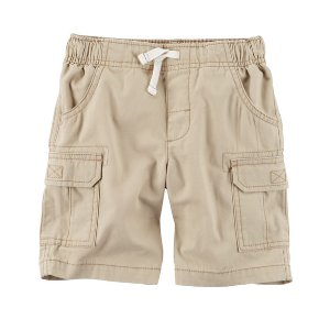 Toddler Boy Pull-On Cargo Shorts | Carters.com