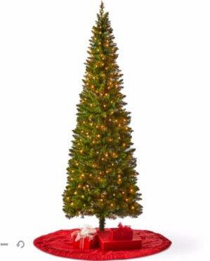 7 foot laramie slim pre lit christmas tree - 7 Pre Lit Christmas Tree