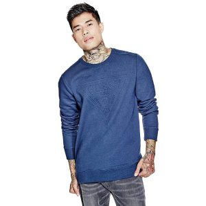 Cayson Embossed Pullover | GuessFactory.com