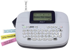 $9Brother P-Touch PTM95 Label Maker