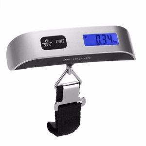 Dr.meter 110lb/50kg Electronic Balance Digital Postal Luggage Hanging Scale