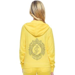 Logo Velour Marrakech Cameo Original Jacket | Juicy Couture
