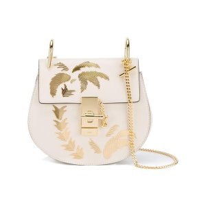 Chloé Mini White Drew Palm Tree Shoulder Bag - Farfetch