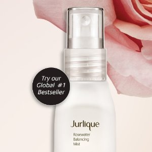 FREE Rosewater Balancing Mistwith ANY purchase @ Jurlique