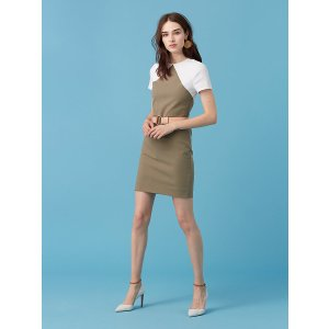 Short Sleeve Tailored Shift Dress | Landing Pages by DVF