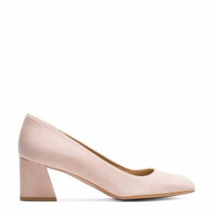 Marymid Low Block Heel Pumps - Shoes | Shop Stuart Weitzman