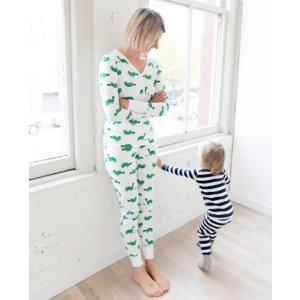 Women PJ Pant In Organic Cotton from Hanna Andersson