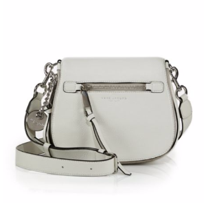 Marc Jacobs - Recruit Small Leather Saddle Crossbody Bag - saks.com
