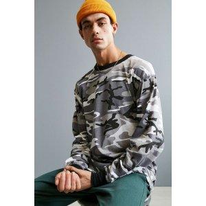 Rothco Camo Long Sleeve Tee | Urban Outfitters