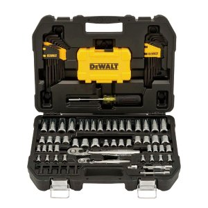 $59.97DEWALT 机械工具套头108件套