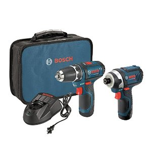 Only $99Bosch CLPK22-120 12-Volt Max Lithium-Ion 2-Tool Combo Kit
