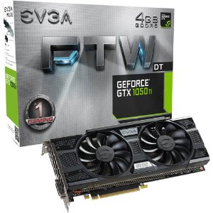 $129.89 EVGA GeForce GTX 1050 Ti FTW DT GAMING Graphics Card