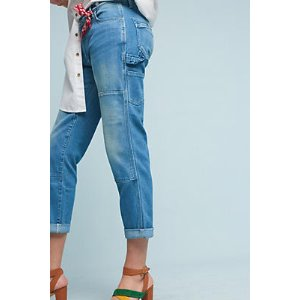 Pilcro Carpenter Mid-Rise Relaxed Jeans | Anthropologie