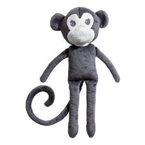 Velour Soft Toy | Dark gray/monkey | H&m home | H&M US