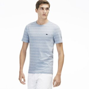 Men's Jacquard Stripe T-Shirt | LACOSTE