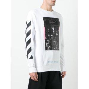 Off-White Caravaggio Print Sweatshirt - Farfetch