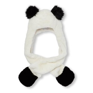 Girls Panda Ears Hat Scarf | The Children's Place