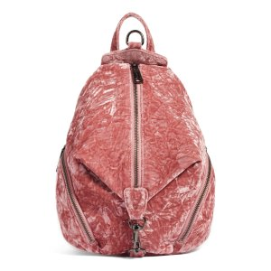 Rebecca Minkoff Medium Julian Velvet Backpack (Nordstrom Exclusive) | Nordstrom