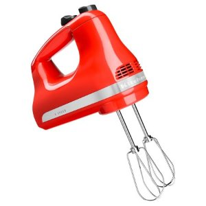 KitchenAid® 5-Speed Ultra Power™ Hand Mixer, Hot Sauce (KHM512HT) - Walmart.com