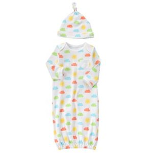 Baby Rainbow Clouds Cloud Gown Set by Gymboree