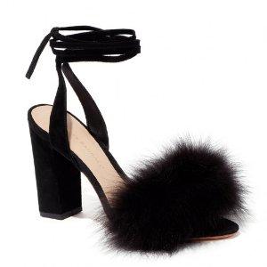 Loeffler Randall | Nicolette High Heel Sandal in Black | Loeffler Randall